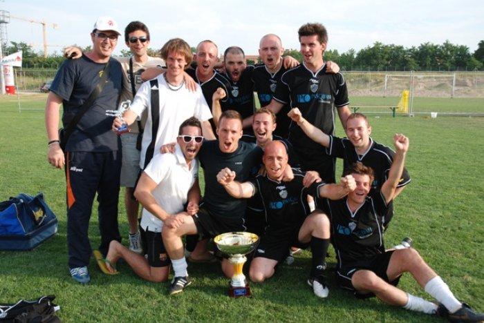 La squadra Terme di Giunone - Caldiero festeggia la vittoria