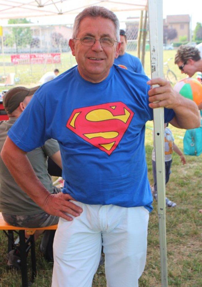 Super... Fausto da Bovolone giunto con il chiaro intento di vincere!
