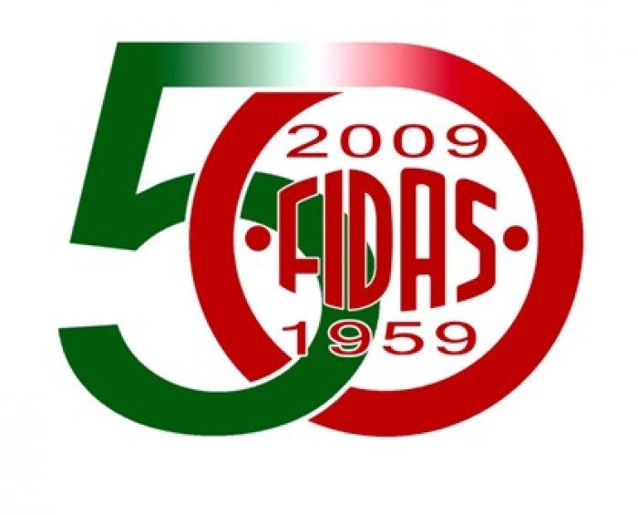 Logo 50° Fidas nazionale
